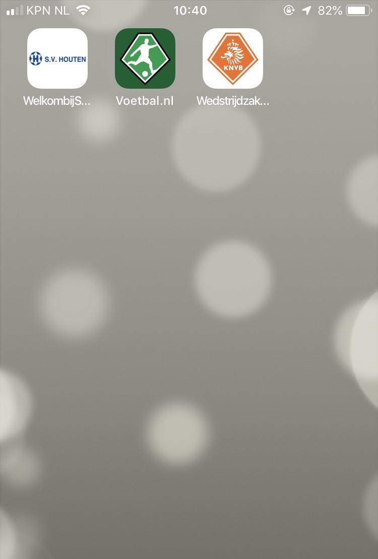 SV Houten website als app op je smartphone of tablet?